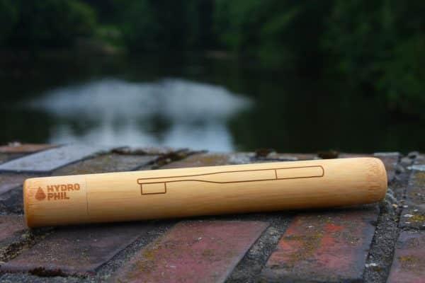 Zahnbürsten-Etui aus Bambus
